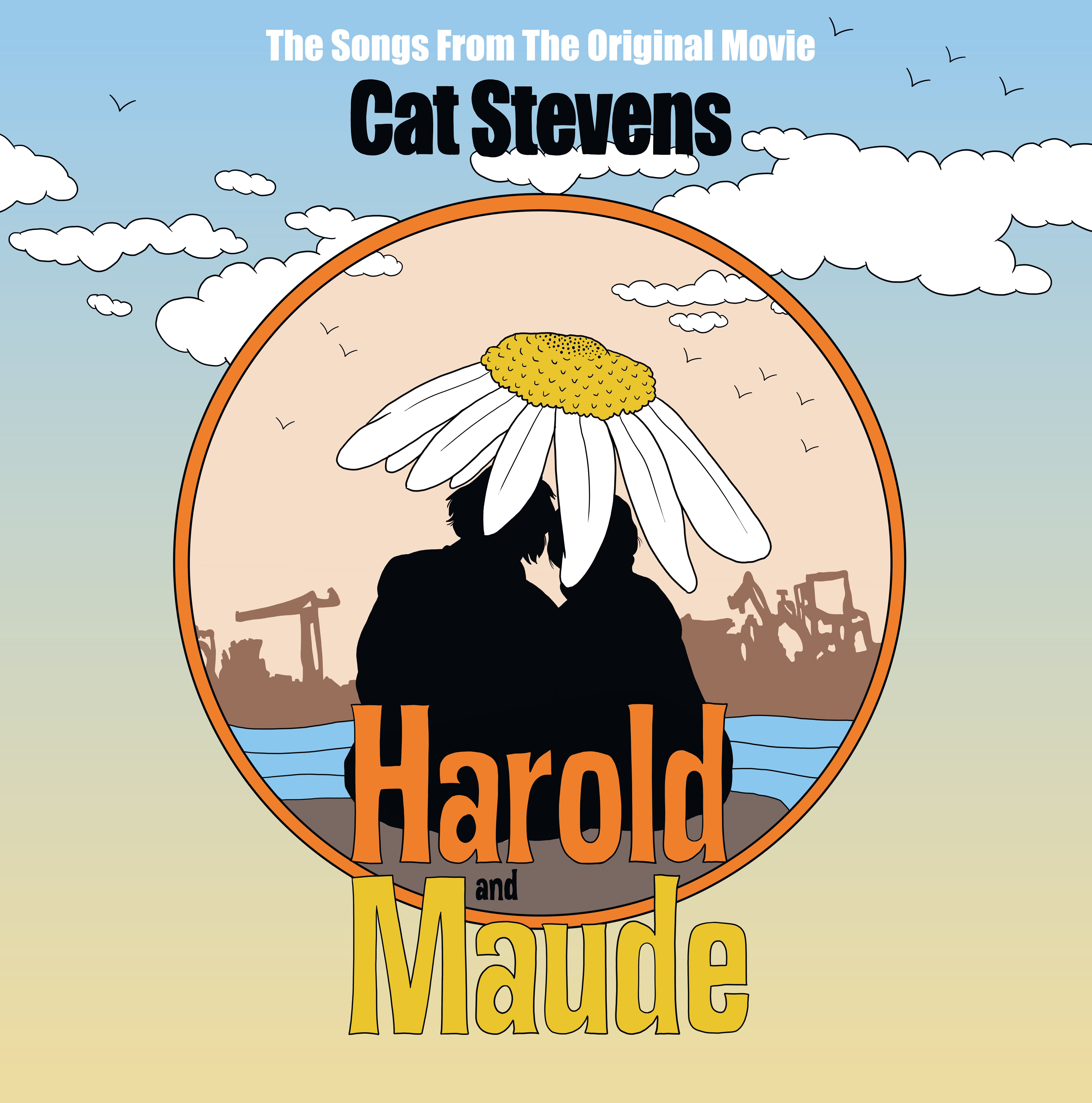 HAROLD & MAUDE COLORED YELLOW VINYL